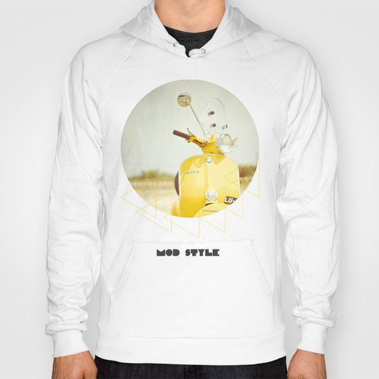 Mod Style in Yellow Hoody