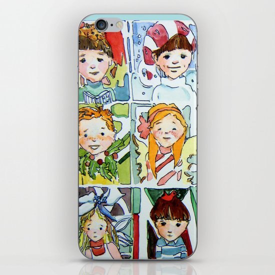Christmas Cousins iPhone & iPod Skin