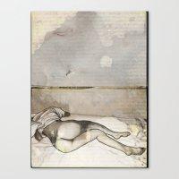 E-nude Canvas Print
