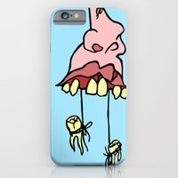 iPhone & iPod Case featuring Floss Face by Rat McDirtmouth