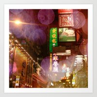 Hong Kong Love Art Print