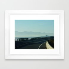 Bend In The Road II Framed Art Print