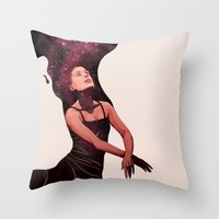 Nightsongs Throw Pillow