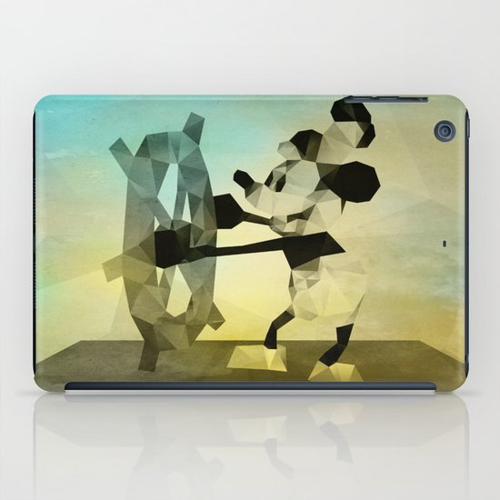 Mickey Mouse as Steamboat Willie iPad Case