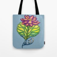 Lotus in Love Tote Bag