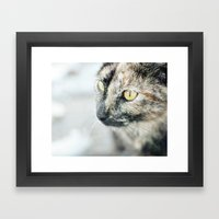 The (Homeless) Huntress Framed Art Print