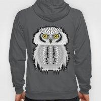 Geometric Snowy Owl Hoody