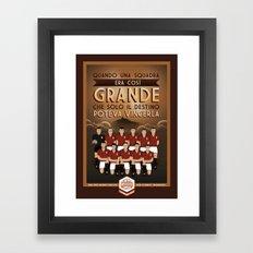 Poster Nostalgica - Grande Torino Framed Art Print