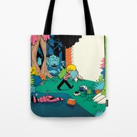 Getting into a Good Book Tote Bag