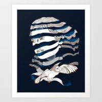 Sarah Unraveled Art Print
