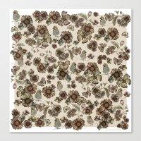 Silvestre Pattern Canvas Print