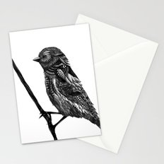 Ornate Bird Stationery Cards