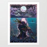 Midnight Meeting Art Print
