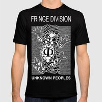 Fringe Division Mens Fitted Tee Black SMALL