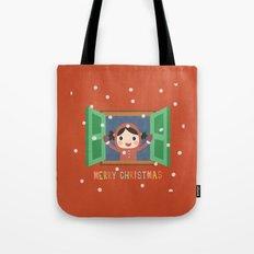 Day 20/25 Advent - Christmas Morning Tote Bag