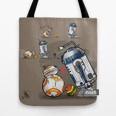 Droid Playtime Tote Bag