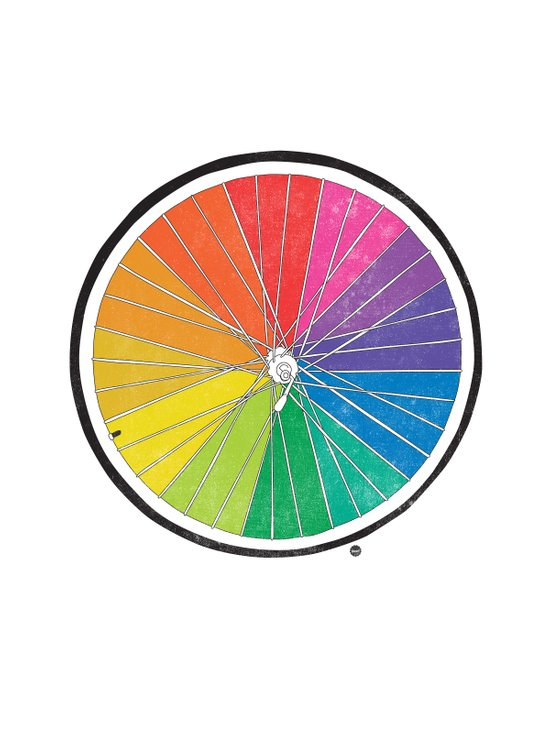 Color Wheel (Society6 Edition) Art Print