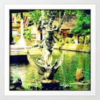 Balinese Goddess Art Print