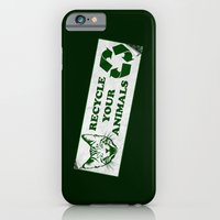 Recycle your animals - Fight club iPhone 6 Slim Case