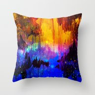 CASTLES IN THE MIST Magi… Throw Pillow