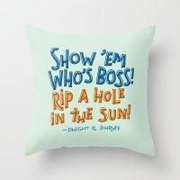 Dwight K. Schrute Throw Pillow