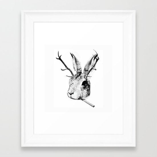 Sargeant Slaughtered Framed Art Print