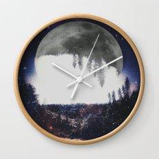 Night Hike Wall Clock