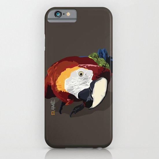 Macaw iPhone & iPod Case