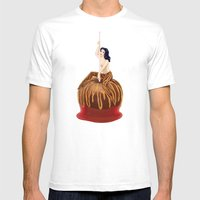 Candy Apple Girl Mens Fitted Tee White SMALL