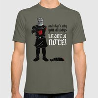 No Note? You Shall Not P… Mens Fitted Tee Lieutenant SMALL