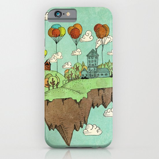 The Floating Farm iPhone & iPod Case