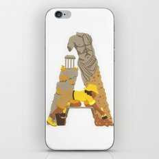 A as Archaeologist iPhone & iPod Skin