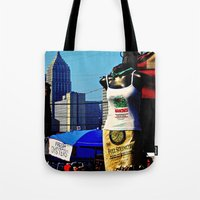 Strip District Model Tote Bag