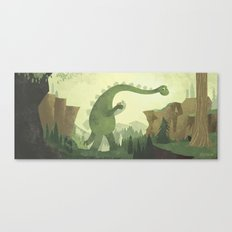 Help Across Canvas Print