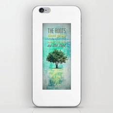Roots of the Tree iPhone & iPod Skin