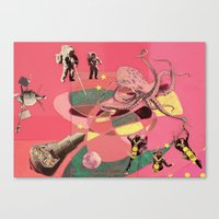 outer space meanderings Canvas Print