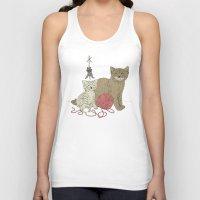 Naughty Cats Unisex Tank Top