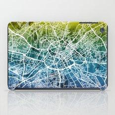Manchester England Street Map iPad Case