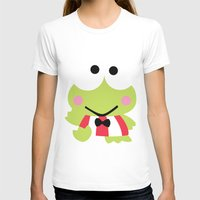 Sanrio - Keroppi Womens Fitted Tee White SMALL
