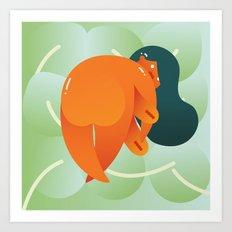 Mango Bajito Art Print