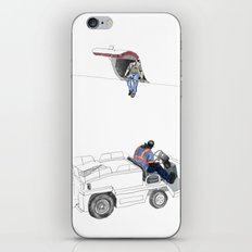 flight 1726 iPhone & iPod Skin