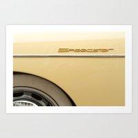 Speedster Art Print