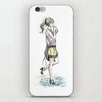 City Girl iPhone & iPod Skin