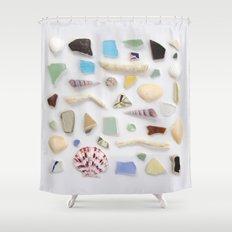 Ocean Study No. 2 Shower Curtain