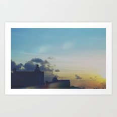 Sunset Craving Art Print
