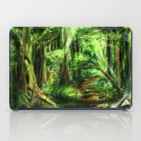 The Great Gaming Forest iPad Case