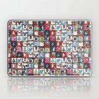 Corrupted Pixel Loop Laptop & iPad Skin