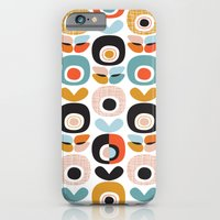 Retro garden apple print iPhone 6 Slim Case