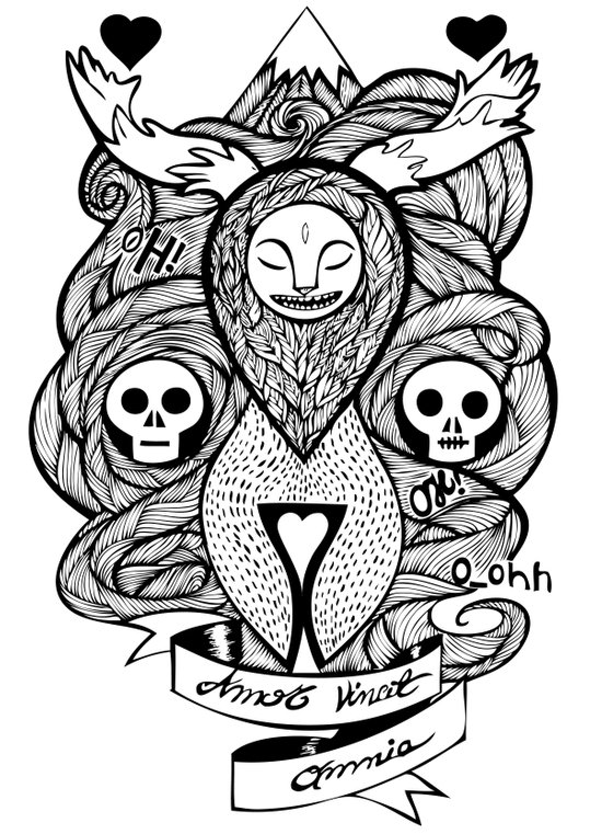 Amor Vincit Omnia Art Print