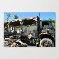 Wartime Memories Canvas Print